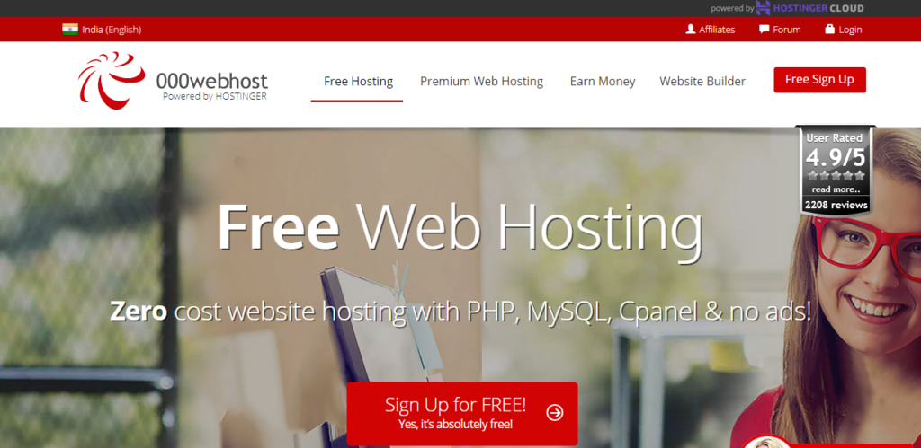 Top 3 Free Hosting Service WordPress Blog शुरुआत करने के लिए