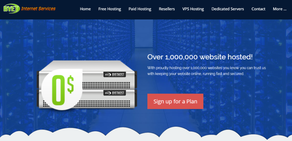 Free Web Hosting Server