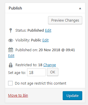 How to Easily Add Age Verification on WordPress Site