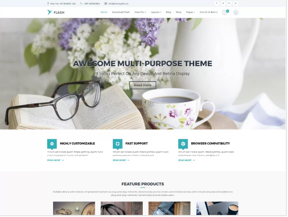 Best free WordPress Themes in 2018 हिंदी में