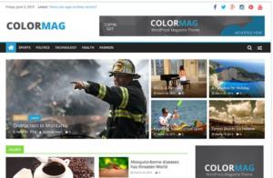 ColorMag WordPress theme Review Free responsive Magazine style WordPress theme