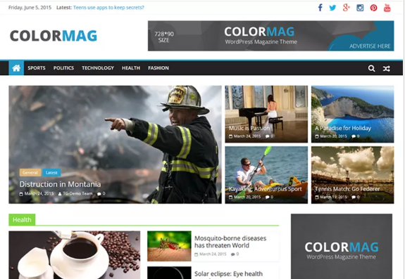 Best Free WordPress Magazine Themes