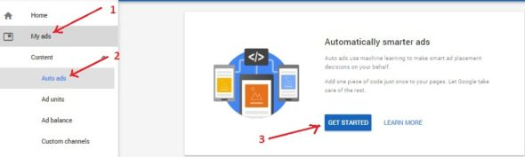 How to Enable Google AdSense Auto Ads