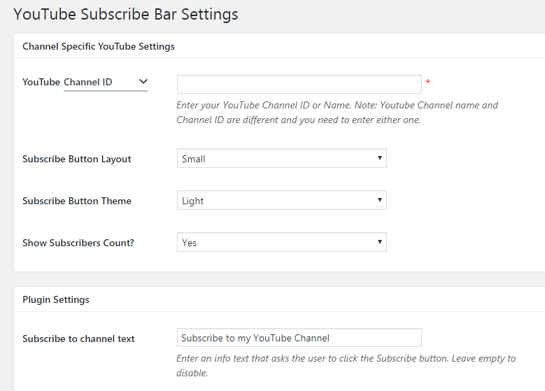 WordPress Blog Me YouTube Subscribe Button Kaise Add Kare