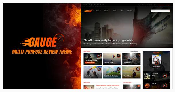Best WordPress Gaming Theme