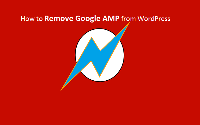Google AMP Disable