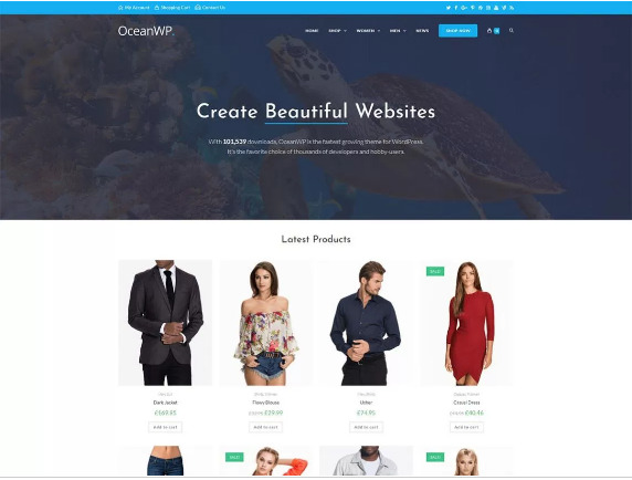 Best Free WooCommerce Themes for WordPress