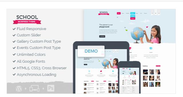 Best WordPress School Theme