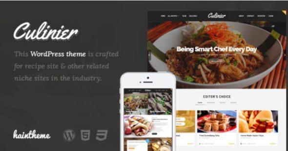 Best Food WordPress Themes Recipe Websites