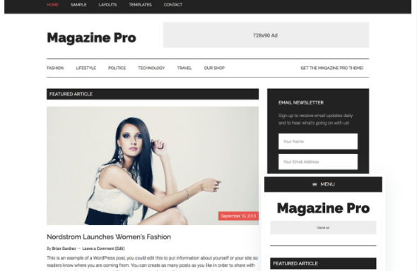 Best SEO Friendly WordPress Themes 2018