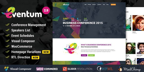 Best Event WordPress Themes