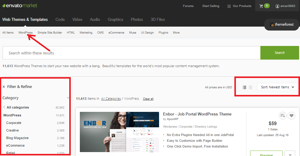 Tips To Choose A Great WordPress Theme On ThemeForest