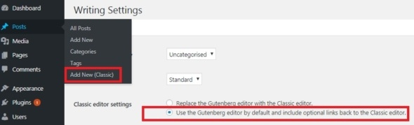 How to Disable Gutenberg