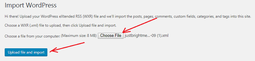 How to Import Images Into WordPress