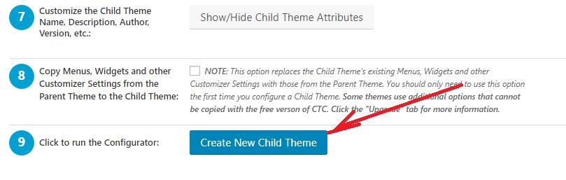 WordPress site me Child theme Create kaise kare