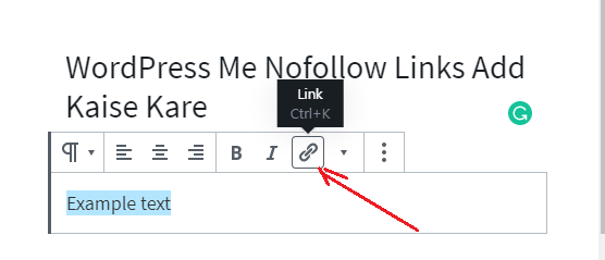 WordPress Me Nofollow Links Add Kaise Kare