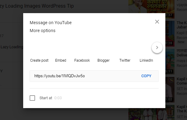 WordPress Blog Post Me YouTube Video Embed Kaise Kare