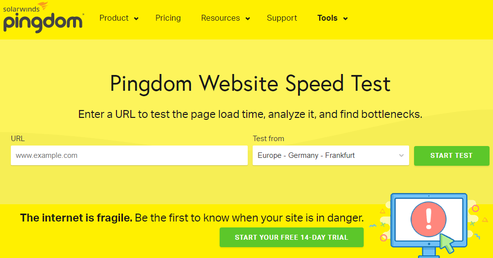 Website Speed Test Tools