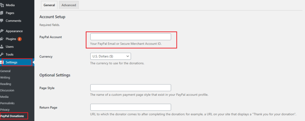 WordPress Me PayPal Donate Button Add Kaise Kare